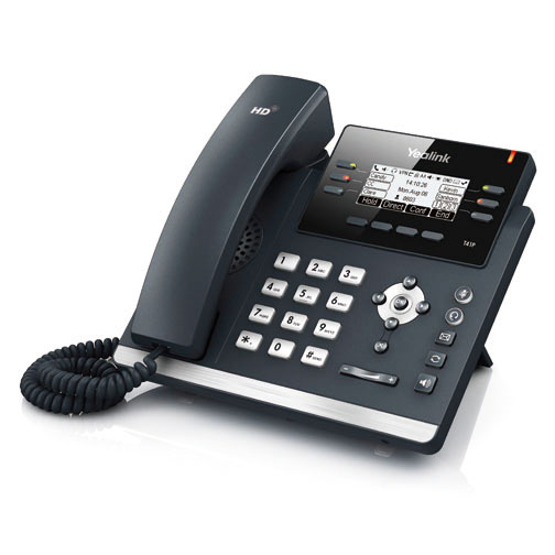 Yealink SIP-T41P 3-Line VoIP Phone Overview