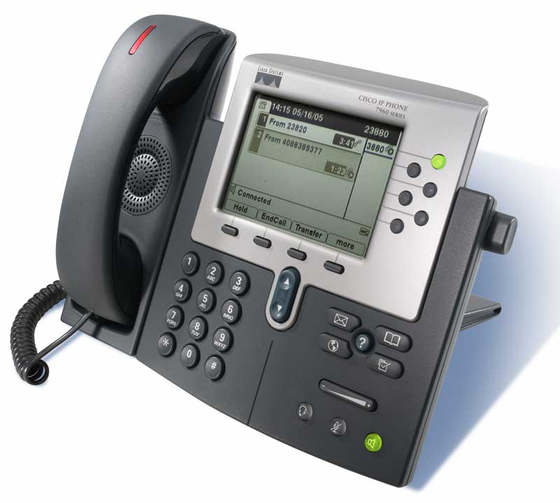 cisco 7960/7940 voip phone